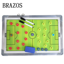 High-End Magnetic Football Training Tactical Board Soccer Coaching Aluminum Coach Voetbal Accesssories
