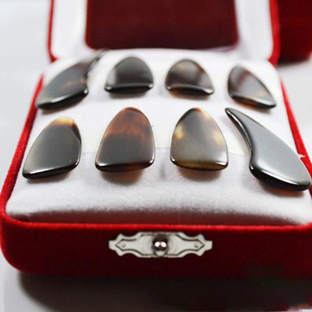 טהור טבעי בדרגה גבוהה ציפורניים ציפורניים טבעיות ציתר למתחילים להתאמן אצבע מרים ציתר אביזרי Drop חינם