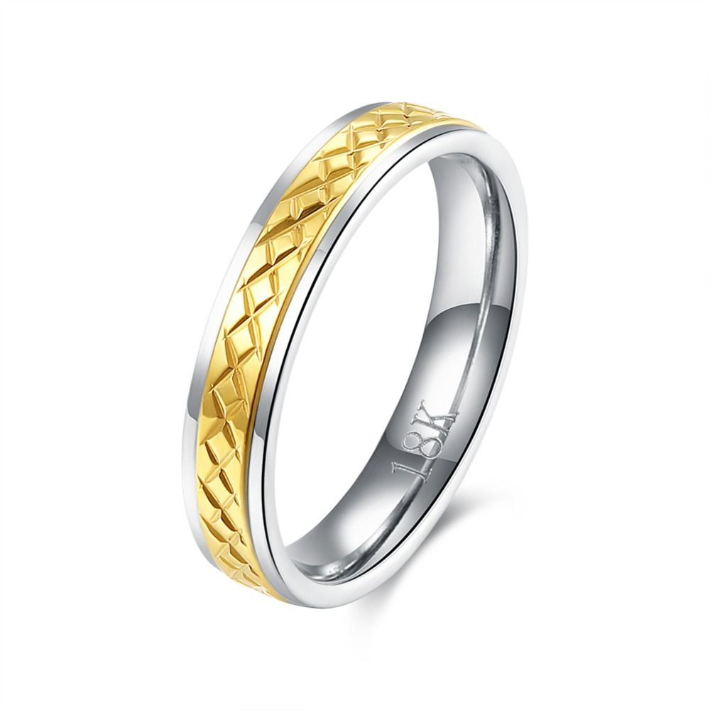 size 6 7 8 white gold colour tungsten wedding bands ring