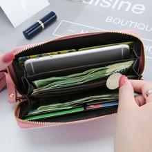 New Fashion Women Wallets PU Leather Zipper Wallet