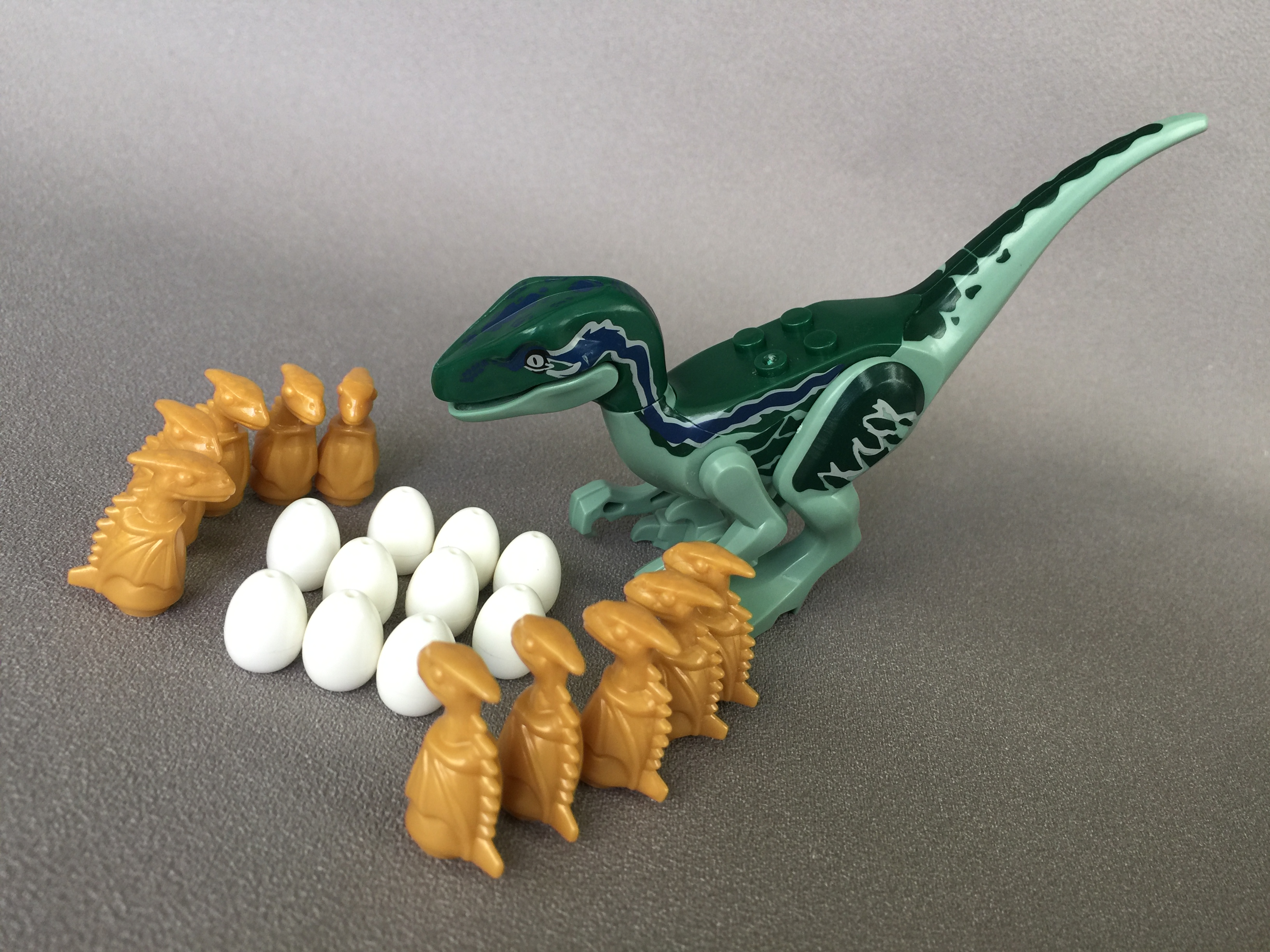 24946 2 x White Egg with Hole on Top New Lego - Jurassic World // Dinosaur