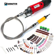 7500WS Rotary Electric Drill Tools Dremel Style Machine Power With 6mm Mutifuction Chuck Flexible Shaft