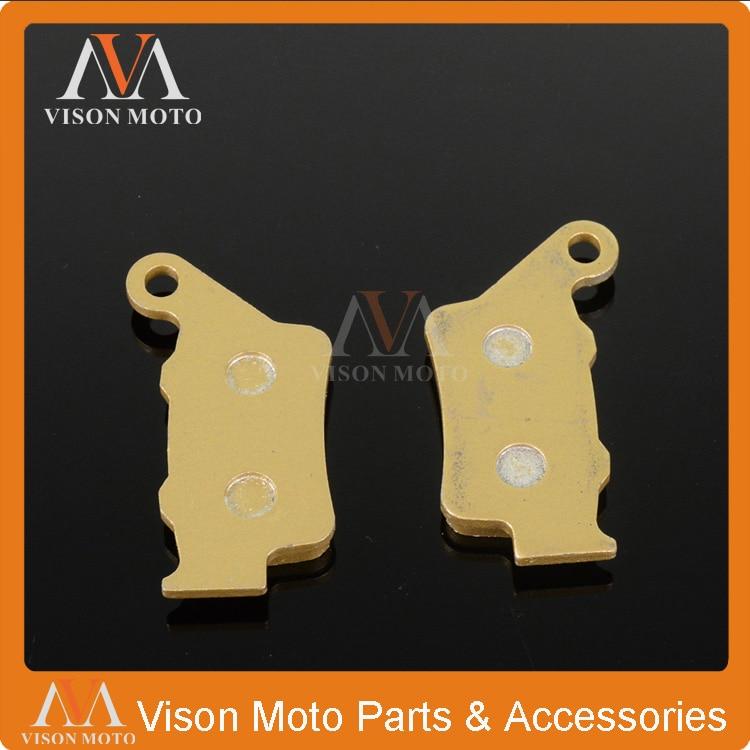 Rear Brake Pads For Husqvarna CR SM SMS SMR STR TC TE WR WRE XCW XCFW LT 125 250 300 350 360 400 410 450 510 570 610 630 650CC