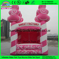 Inflatable Jumper, Fun Game Merry Christmas Gift Box Holiday Jumping Inflatable Bouncer