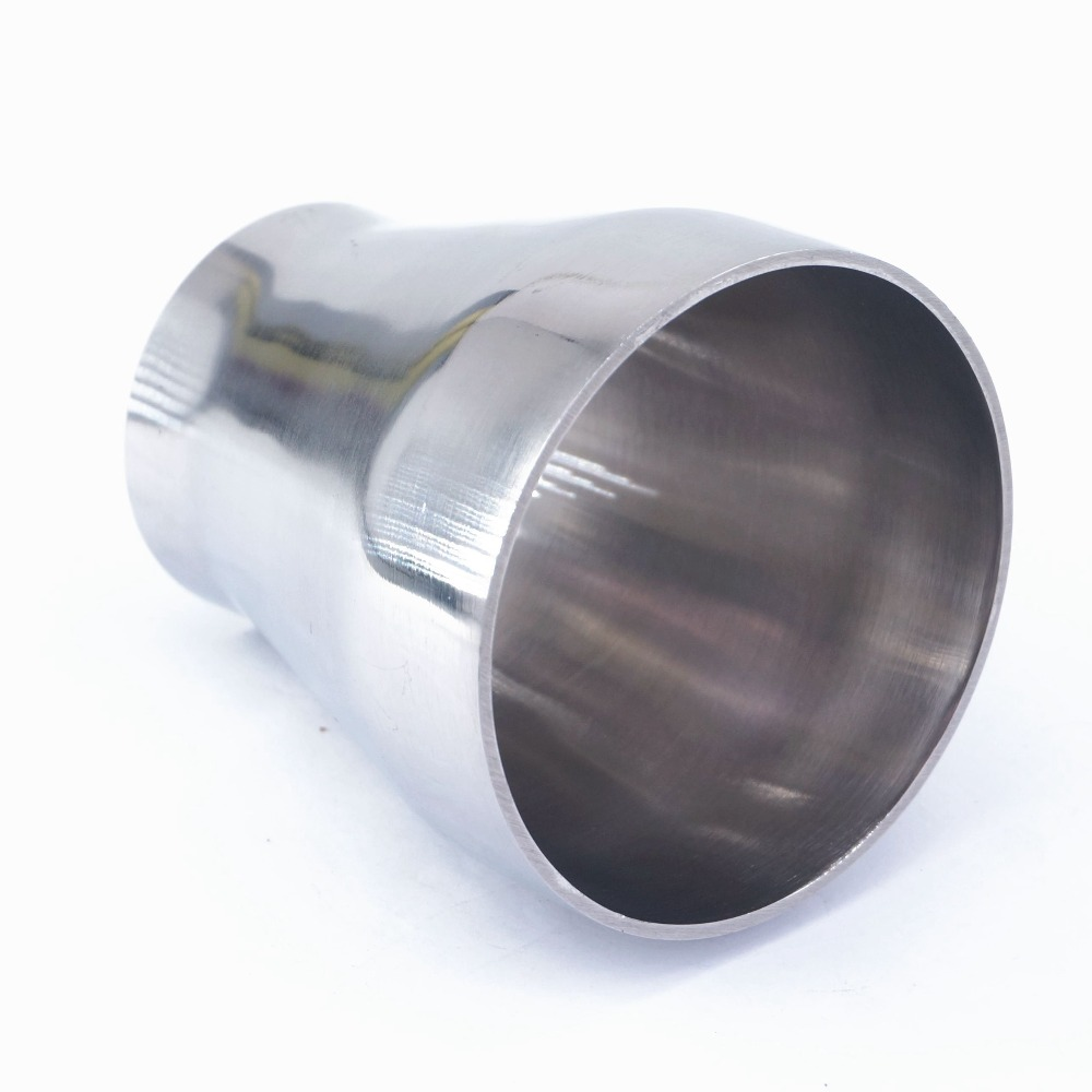 76mm 3  to 51mm 2 OD Butt Welding Reducer SUS 304 Stainless Steel Sanitary Pipe Fitting Homebrew Beer76mm 3  to 51mm 2 OD Butt Welding Reducer SUS 304 Stainless Steel Sanitary Pipe Fitting Homebrew Beer