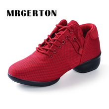 New Dance Shoes Women Girl Jazz Hip Hop Shoes Salsa Sneakers For Woman Platform Dancing Ladies Whoes