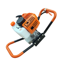 Engine Machine For Post Hole Digger Replacement 52CC Earth Auger Borer US Stock