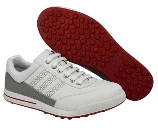 PGM New Mens Golf Shoes Light & Breathable waterproof non-spikes anti-skid men microfiber leather sneakers sports Shoes brand pgm adult mens golf sports shoes anti sideslip technology and waterproof and breathable and light weight golf sneakers