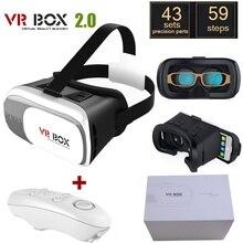 """2016 Hotsell Google cartón HeadMount CAJA 2.0 Versión VR VR Gafas 3D para 3.5 """"-6.0"""" Smart Phone + Bluetooth Mando a distancia"""