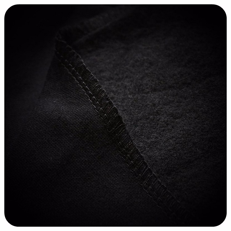 Cultivate Morality Fashion Men Hoodies Leather Sleeve Splicing Inclined Zipper Hooded Big Yards Fleece Jackets 9