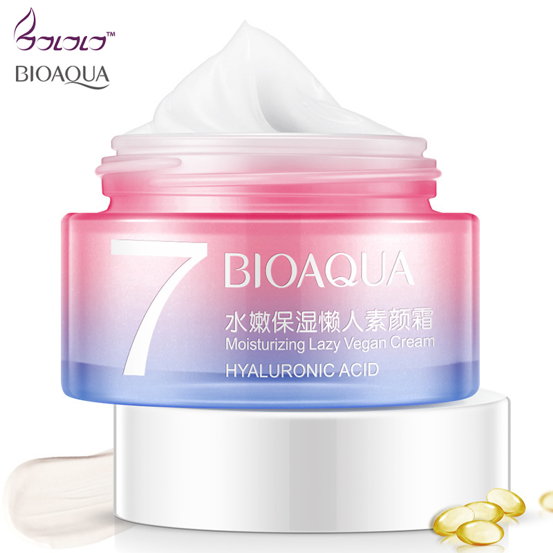 BIOAQUA Face Cream moisturizing to remove Dark Spots Freckle Cream Whitening Anti Aging wrinkle Concealer Sunscreen V7 Skin Care wholeslale beauty excellent fade out whitening day cream for face skin care anti freckle remove pigment face cream