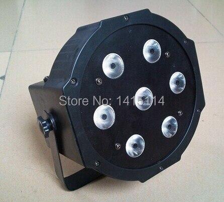 4pcs/lot led stage light 7*10w RGBW led par light par can 64 for dj lights