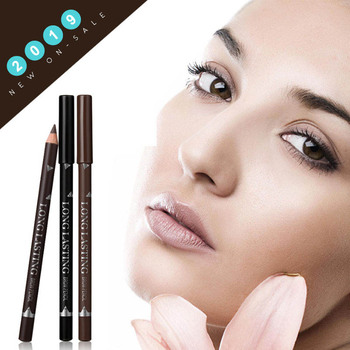 MENOW 3 Colors Black Eyebrow Pencils for Women Waterproof Brown Eye Brow Pencil Makeup Beauty Brows Pen Cosmetic Tools Maquiagem