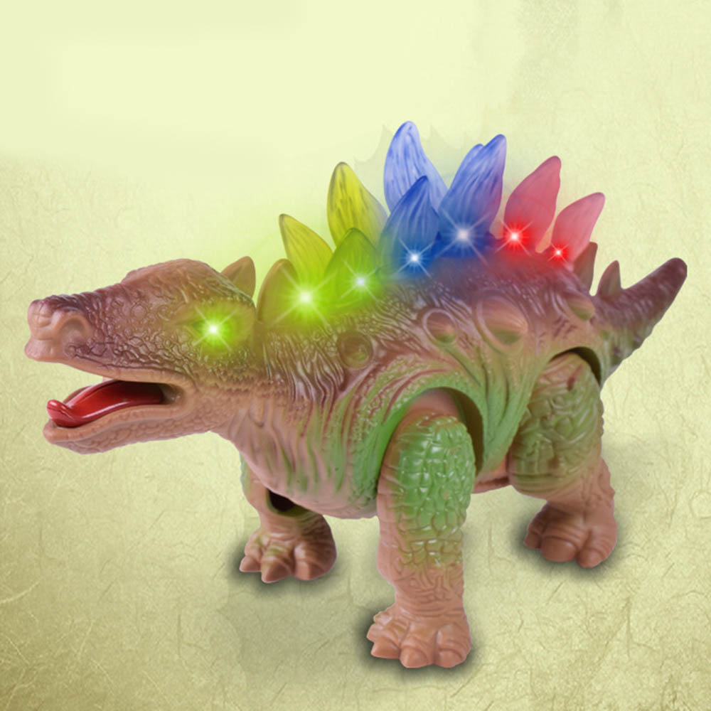 Electric Toy Walking Roaring Light Dinosaur Toy For Children Dinosaur Toy With Light Collectible Model