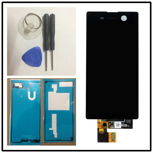"""Черный или белый ЖК-дисплей Для Sony Xperia M5 Dual E5633 E5643 E5663 (5.00 """") сенсорный ЖК-Экран Digitizer"""