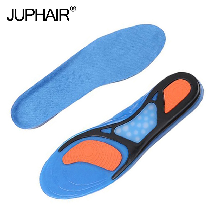 New 1 Pair Silicon Gel Can Be Free to Cut Breathable Orthotic Arch Support Massaging Insoles Military Training Shock Absorber