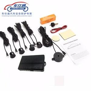 Image 1 - Автомобильная система датчиков для парковки универсальная звуковая сигнализация, 22 мм, обратный радар, звуковая сигнализация, индикатор, n цвета