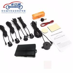 Image 1 - Système de capteur de stationnement de voiture alarme sonore universelle 22mm Radar inverse système dindicateur dalerte sonore n couleurs