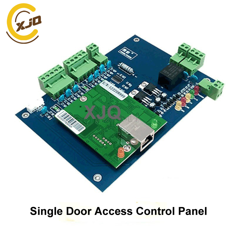 Delicious Xjq Free Shipping One/two /four Door Rj45 Network Access Control Panel Board With Software Tcp/ip Board Connect Wiegand Reader Agreeable Sweetness Access Control