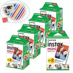 Fujifilm Instax Mini Film instantané blanc pour Mini 9 8 8 + 7c 7s 70 90 25 50s caméra Smartphone imprimante Liplay SP-2 1 Polariod 300