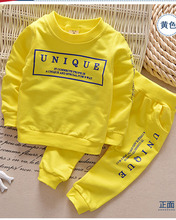1-6Y new arrival Boy clothes set children sports activities go well with kids tracksuit ladies Tshirt pant child sweatshirt character informal garments