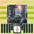 Nouveau!! Runing Super ATX X79 LGA2011 carte mère 8 logements DIMM DDR3 max 8*16G mémoire Xeon E5 2640 C2 CPU 32G (8*4G) 1333 MHz DDR3 RECC