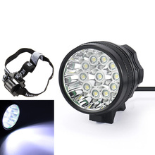 Waterproof Bicycle Light 11 x CREE XM-L T6 LED Flashing Lamp Headlight+ 8x18650 Battery Pack +Charger цена и фото
