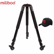 miliboo MTT703A  Portable  Tripod 1650mm Aluminum Professional Camera  Tripod without  Ball head Monopod  For DSLR mefoto classic aluminum roadtrip travel tripod monopod kit professional tripod for slr dslr camera