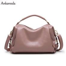Ankareeda Boston Women Bag High Quality Women Messenger Bags Fashion Designer Handbags Famous Brands Tote Bag