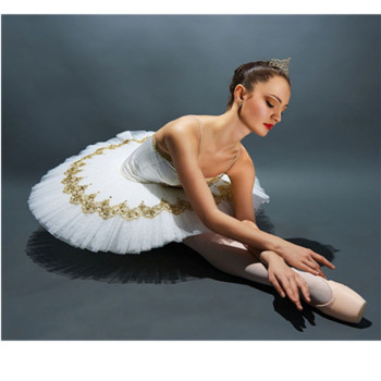 Special Professional Ballet Tutus Skirt Adult Strap Ballet Leotards For Women Girl Swan Lake Dance Costumes Kids Stage Dancewear
