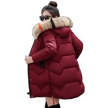 d4b2610094d Chaqueta de invierno mujeres nieve desgaste wadded chaqueta femenina  delgada larga chaqueta de abrigo de invierno