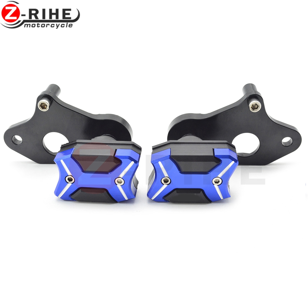For Suzuki GSXR600 GSXR750 K6 K8 K11 2006-2014 Motorcycle accessories CNC motorcycle Engine Cover Frame Sliders Crash Protector