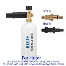Dla Huter myjki ciśnieniowej myjni samochodowej dysza pianowa/generator piany/śniegu Foam lance dyszy opryskiwacza/wysokie ciśnienie mydło spieniacz