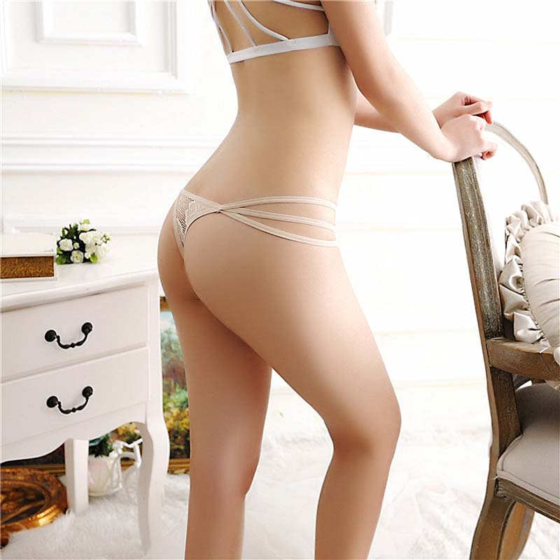 Ladies Thong Bow Lace Sexy Panties Women 39 S Pants G String Panties For Sex Sexy Lingerie Fashion Hollow Temptation Strip in Panties from Novelty amp Special Use