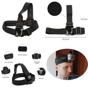 Image 2 - 撮影アクションカメラアクセサリー移動プロヒーロー9 7 8 5黒xiaomi李4 18k sjcam Sj4000 eken H9ソニーgoプロカメラキット