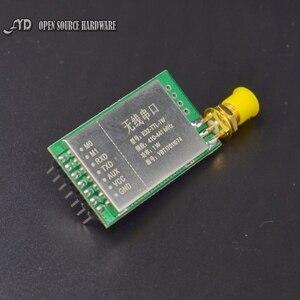 Image 4 - Параметры 7500 м 1 Вт SX1276 LoRa 433 мгц радиочастотный трансивер дальнего действия 7500 м радиочастотный модуль 433 м LORA с антенной