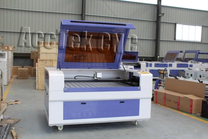 CNC CO2 láser máquina de marcado de área grande AKJ1390C para impresión de papel no metálico