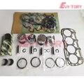 Для Shibaura N844 N844T N844L N844LT комплект для восстановления двигателя поршень + поршневое кольцо прокладка подшипника