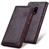 For Nokia6 Cases New Arrival Luxury Top Genuine Leather Case Business Flip Protection Phone Case Cover