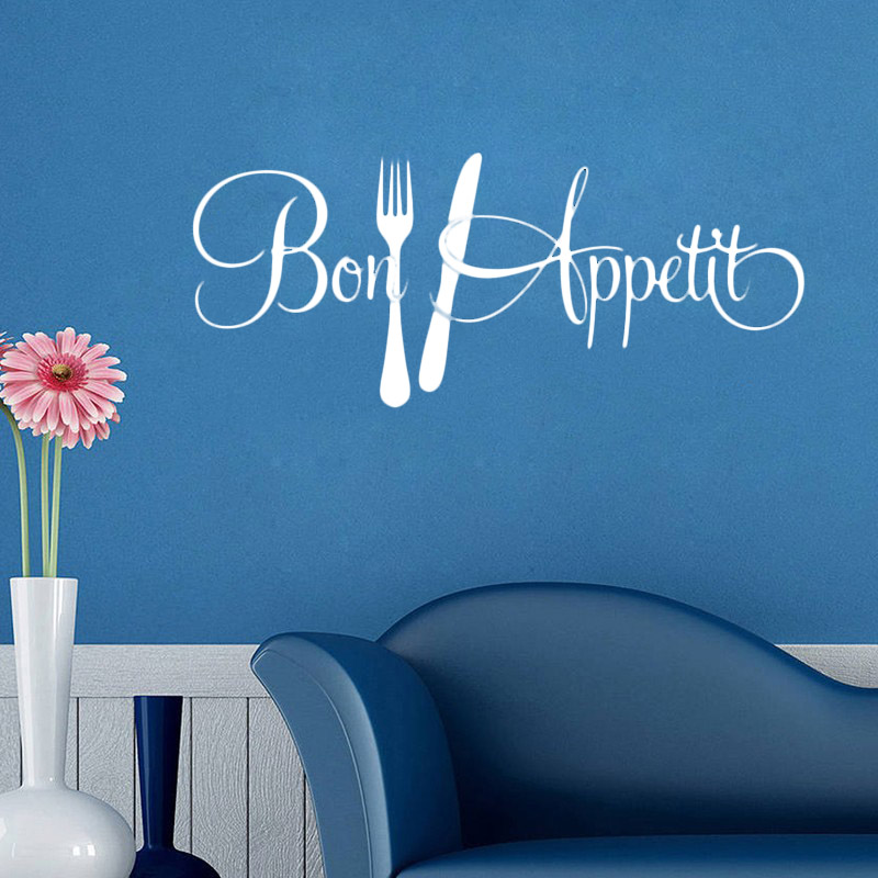Can Be Removed Dynamic Wallpaper Kitchen Wall Sticker Home Decoration Background-in Wall ...