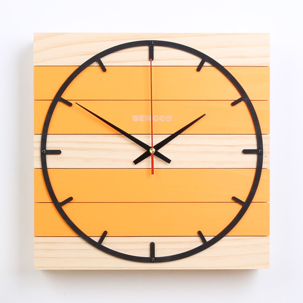 Old Fashioned Colorful Wall Clock Sketch - The Wall Art Decorations ...