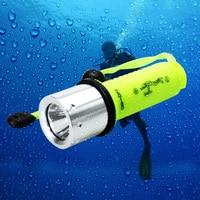 High Quality Underwater Diving Flashlight CREE Q5 XPE XML T6 LED Mini Flashlight Led Light 18650