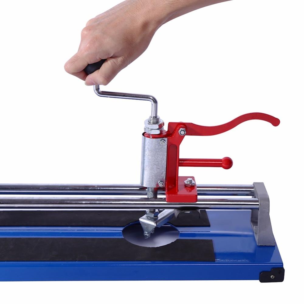 Manuelle Fliesen Cutter Keramik Porzellan Boden Wand Schneiden Maschine 600mm Hand Werkzeuge Tragbare In