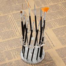 Beauty Girl Fashion Makeup Nail Art Acrylic Polish Pen Holder Brush Organizer Stand Display Nov.4