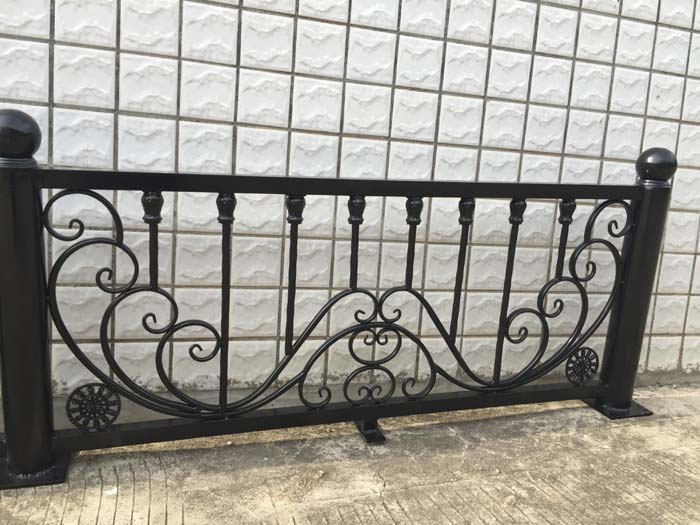Wrought iron fence balcony windows and garden fence off - Interior decorative wrought iron gates ...