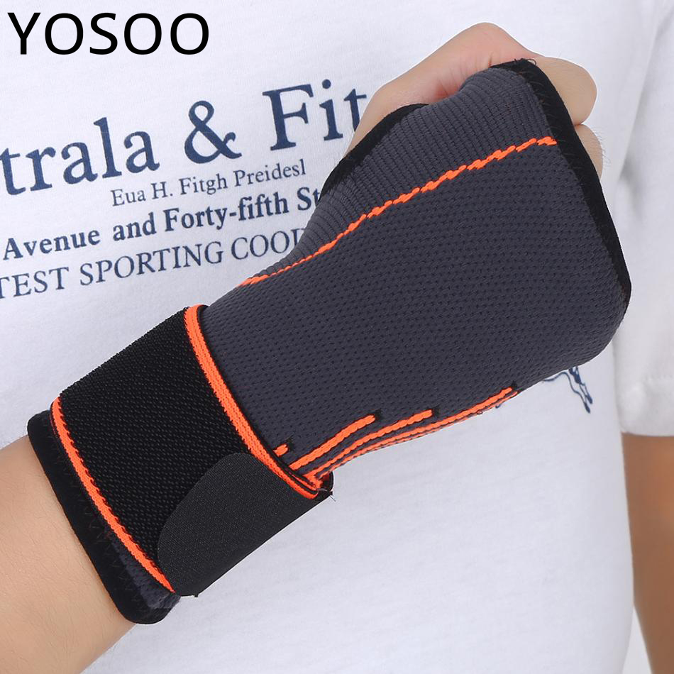 8bd145f038 Wrist Support Belt Braces Protection New Adults Tension Support Brace  Adjustable Wrist Sleeve Warp Guard With Thumb Loop