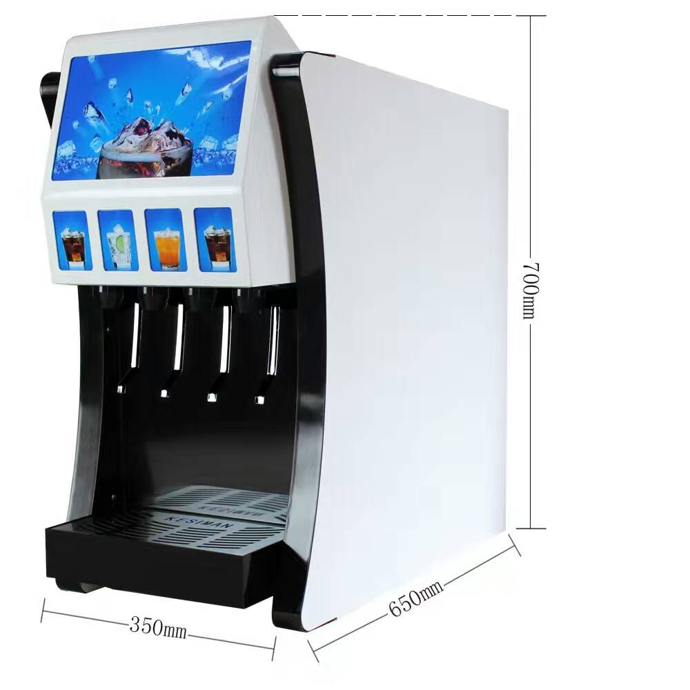 Fashion soda fountain machine for BIB syrup coke post mix soda fountain dispenser commercial drink vending water dispensor coke фото