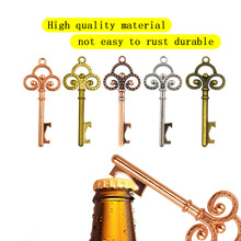 1Pc Key Bottle Opener with Tag Cards Wedding Favour Skeleton for Party Rustic Decoration 10pcs dallas ds1990a ds1990a f5 ibutton i button 1990a f5 electronic key ib tag cards fobs tm cards