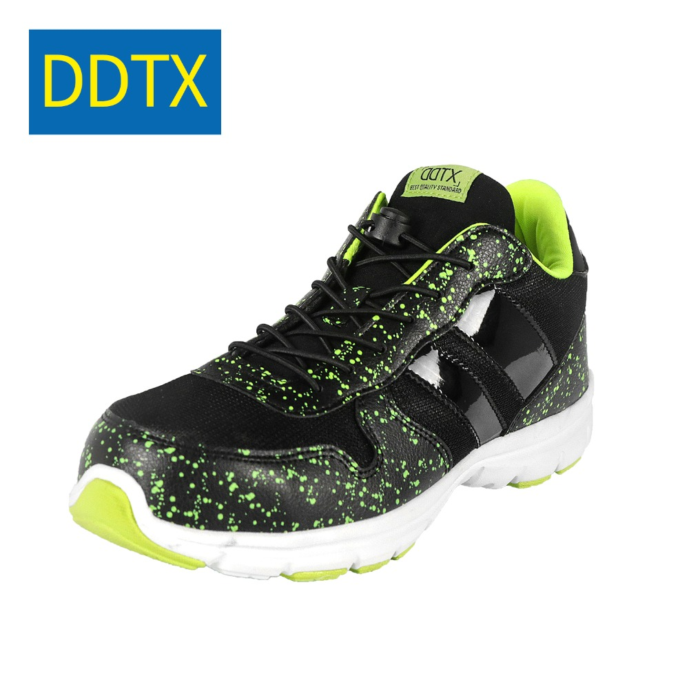 Ddtx Spring Autumn Steel Toe Safety Shoes For Men Lightweight