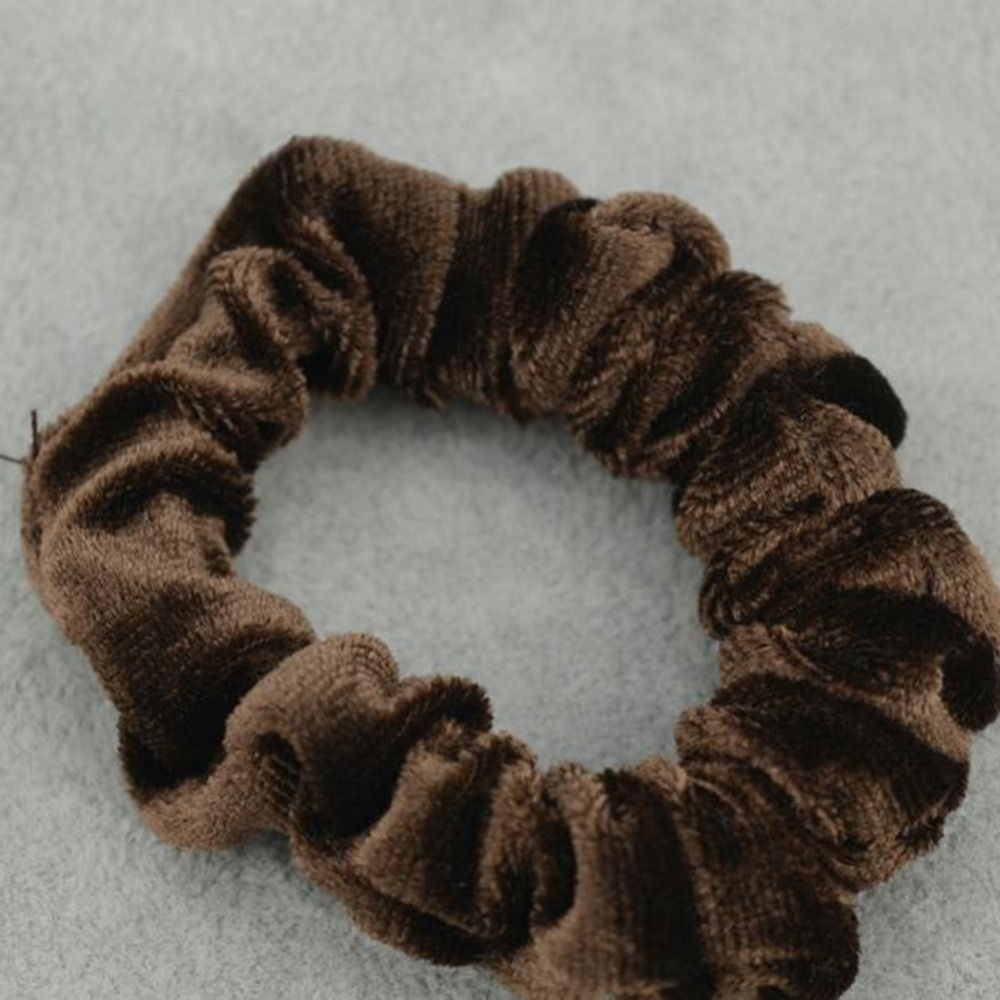 IMIXLOT Simple Velvet Headband Soft Hair Band 5 Colors For Women Girls Hair Elastic Hair Bands bijoux de tete